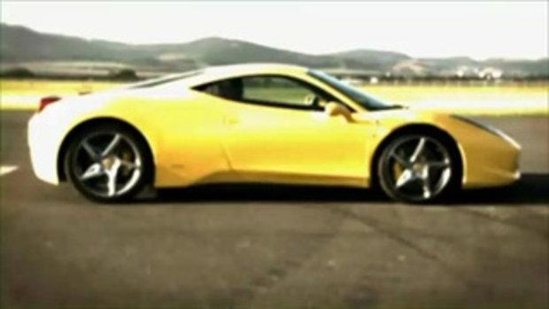 Ferrari 458 Italia im - Test
