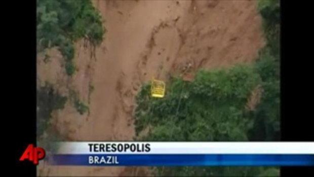 น้ำป่า โคลนถล่มที่บราซิล ดับ 200 กว่าศพ