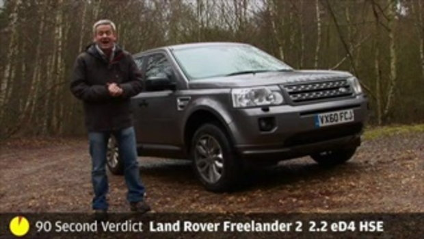 Land Rover Freelander review