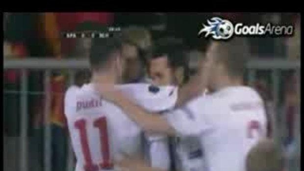 สเปน 2-1 สาธารณรัฐเช็ก (คัดยูโร)