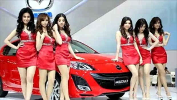 จัดเต็ม! สาว motor show 2011 - Mazda