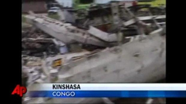 เครื่องบินตกในคอง ตาย 33 ศพ