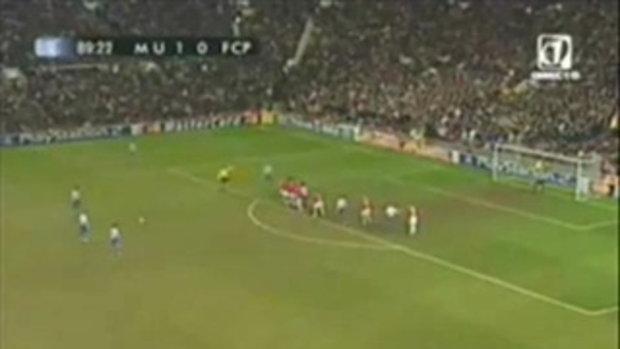 แมนฯยูไนเต็ด 1-1 ปอร์โต้ ยูฟ่าแชมเปี้ยนส์ลีก 2004/