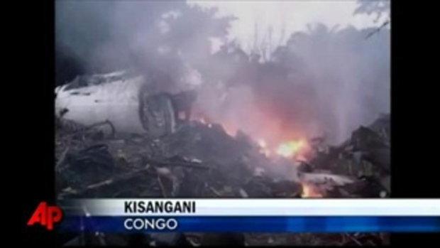 อุับัติเหตุเครื่องบินตกใน คองโก