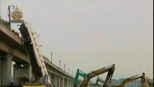 อุบัติเหตุ! รถไฟความเร็วสูง ตาย 35 เจ็บ 200 ที่จีน