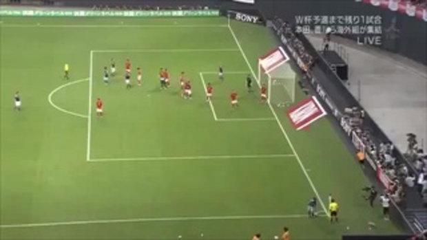 ญี่ปุ่น 3 - 0 เกาหลีใต้(กระชับมิตรทีมชาติ)