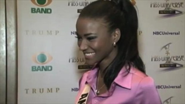 Miss Universe 2011 Angola Media Junket