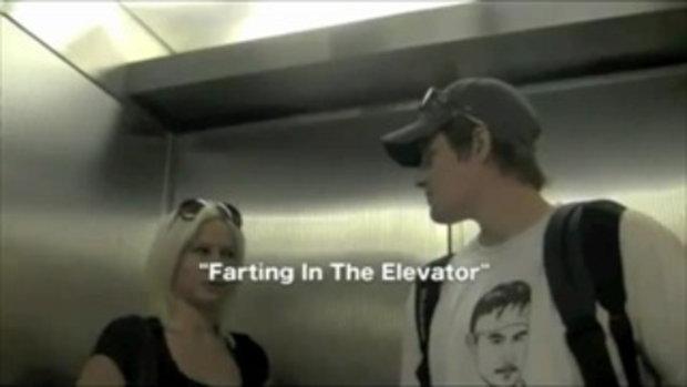 ตด..แกล้งคนในลิฟท์