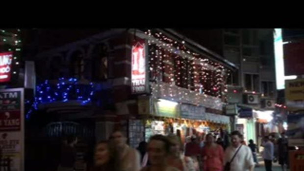 เจโอ๋เวสป้าผจญภัย-ตะลุยทาเมล ร้านอาหารไทย กาฐมาณฑุ เนปาล  Thamel