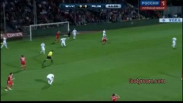 ไฮไลท์ฟุตบอลยูโร 2012 รอบแบ่งกลุ่ม สโลวาเกีย 0-1 รัสเซีย