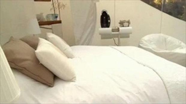 ฝรั่งเศสเปิดโรงแรมฟองสบู่สุดเจ๋ง