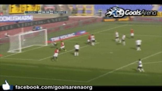 โรม่า 1-0 ปาแลร์โม่ ไฮไลท์