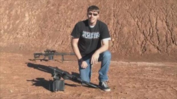 เท่จริงๆ รัวปืนกลจากเฮลิคอปเตอร์