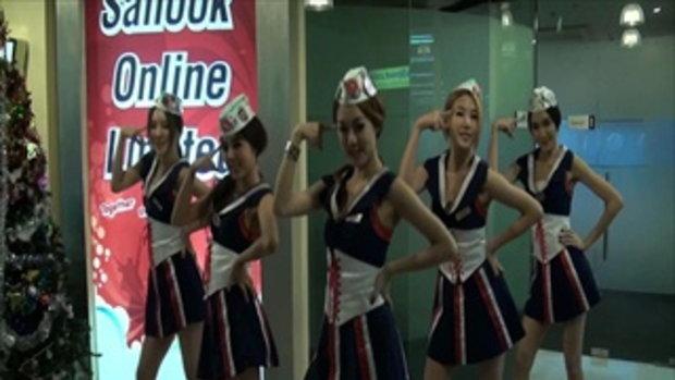 สาวๆ G 20 เต้นโชว์น่ารักๆ ที่สนุกดอทคอม