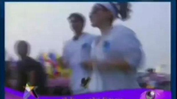 ลิเดีย แมทธิว วิ่งมาราธอน