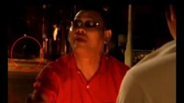 ถ่ายติดวิญญาณคนเสื้อแดง