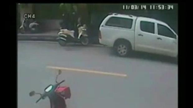 ภาพสดๆ จาก CCTV ที่โดนห้ามออกข่าว