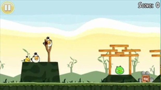 Official Angry Birds 3 Star Walkthrough Theme 2 Levels 16-21