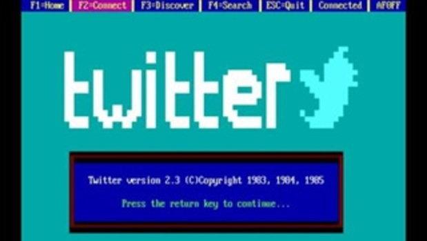 ถ้า Twitter ถูกสร้างขึ้นตั้งแต่ยุค 80 จะเป็นอย่างไร