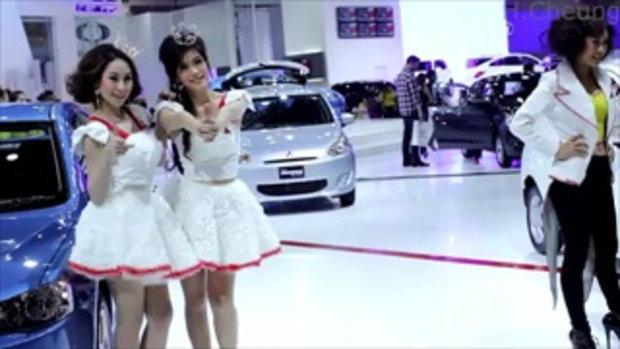 มอเตอร์โชว์ 2012 - Funny Mitsubishi model