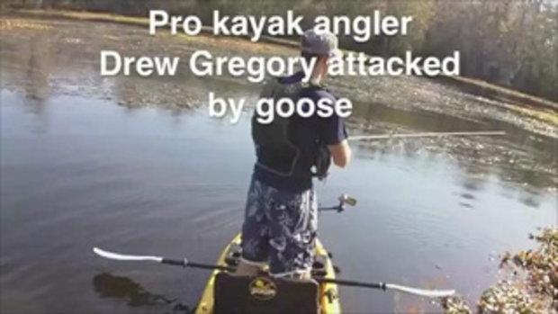 ห่านจิก บ้าเอ่ยคนกำลังตกปลาอยู่ดีๆ