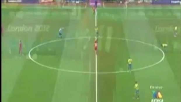 ไฮไลท์ฟุตบอล โอลิมปิก 2012 เม็กซิโก 2-0 กาบอง