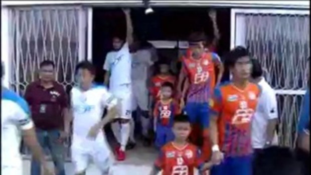 ไฮไลท์ฟุตบอล การท่าเรือไทย 0-0 ทีโอที เอสซี
