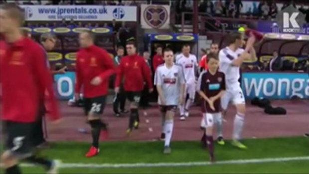 ไฮไลท์ฟุตบอล Liverpool vs. Hearts 1-0