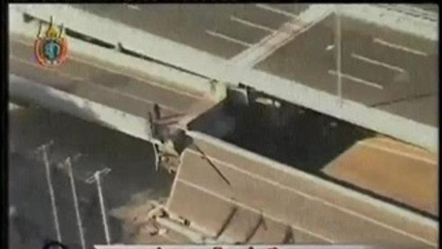 สะพานถล่มในจีน ตาย 3 เจ็บ 5 คน