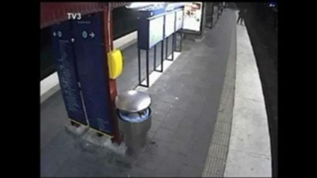 ล้วงกระเป๋าคนเมาตกรางรถไฟ แถมปล่อยให้รถไฟทับ