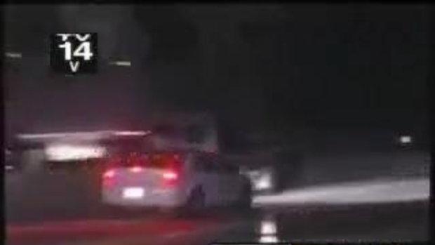 อุบัติเหตุ รถเสียบนทางด่วน ซวยหลายต่อ