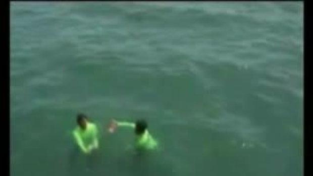 สยอง!กู้ศพที่ถูกฆ่าถ่วงน้ำ