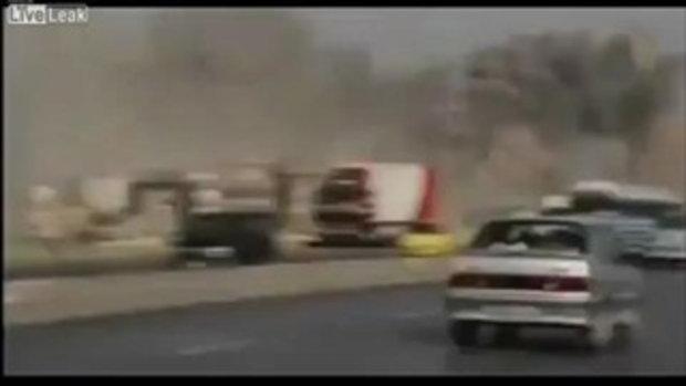 เมือง ดามัสกัส ซีเรีย โดนระเบิดพลีชีพ