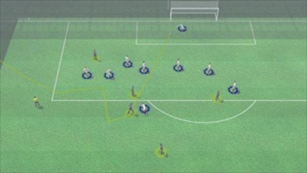 คลิปไฮไลท์ยูโร2012 3D ฝรั่งเศส ตีเสมอ อังกฤษ 1-1