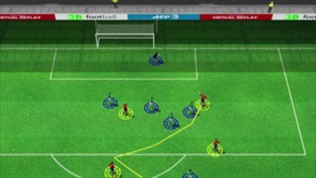คลิปไฮไลท์ยูโร2012 3D สเปน นำ ไอร์แลนด์ 1-0