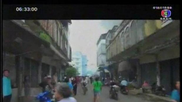 ไฟไหม้กลางเมืองจันทบุรี