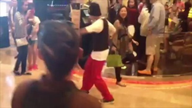 Flash mob from step up 4