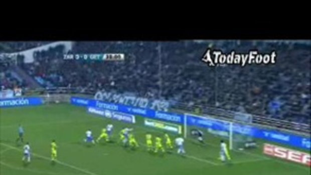 ไฮไลท์ ลาลีกา เรอัล ซาราโกซ่า 1-1 เคตาเฟ่