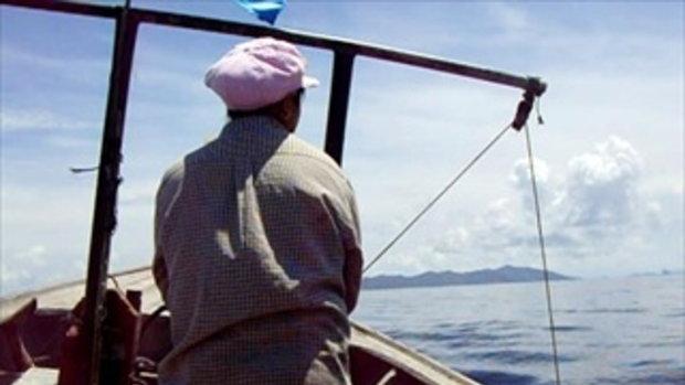 ไปเก็บปลาหมึก ที่เกาะยาว พังงา