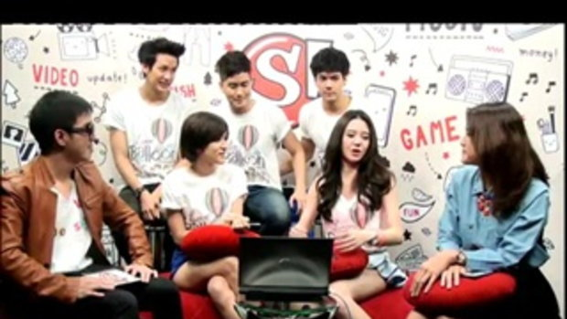 Sanook Live chat - นักแสดงซีรี่ส์ Love Balloon 2/5