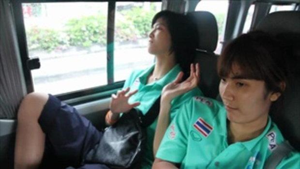 ขอใจเธอแลกเบอร์โทร  นักวอลเลย์บอลสาวไทย