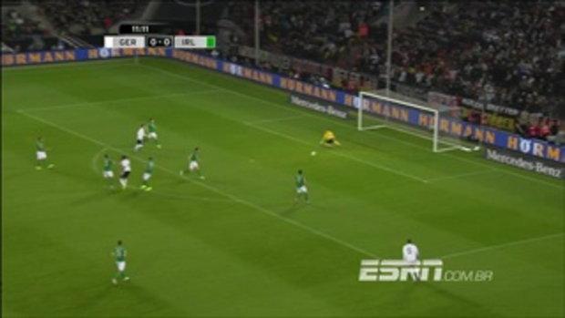 ไฮไลต์ฟุตบอล เยอรมัน 3-0 ไอร์แลนด์