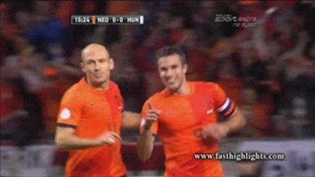 ไฮไลต์ฟุตบอล ฮอลแลนด์ 8-1 ฮังการี (บอลโลก รอบคัดเลือก)