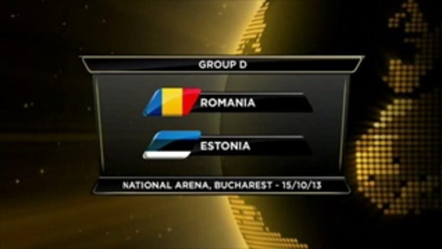 ไฮไลต์ฟุตบอล โรมาเนีย 2-0 เอสโตเนีย