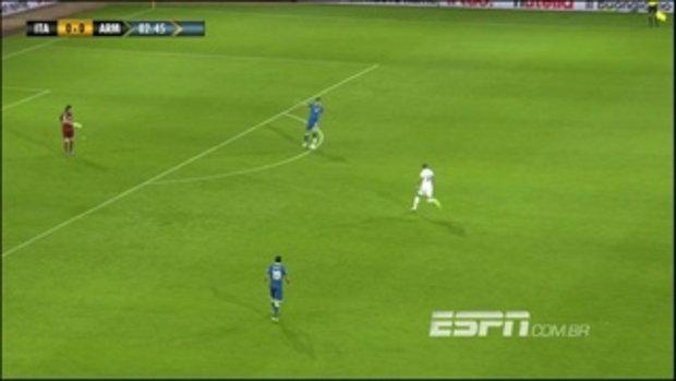 ไฮไลต์ฟุตบอล อิตาลี 2-2 อัลเมเนีย