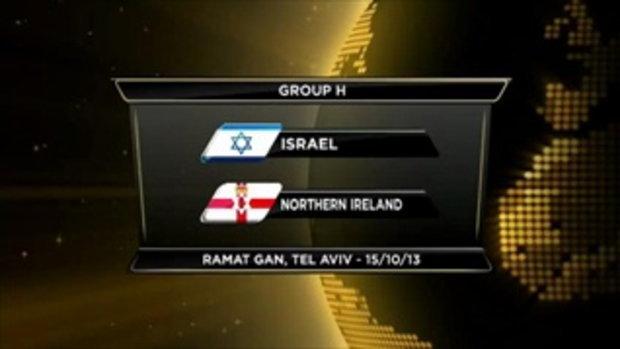 ไฮไลต์ฟุตบอล อิสราเอล 1-1 ไอร์แลนด์เหนือ