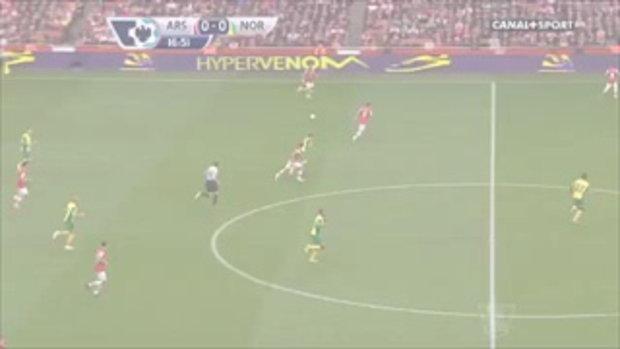 ไฮไลท์ฟุตบอล อาร์เซน่อล 4-1 นอริช ซิตี้