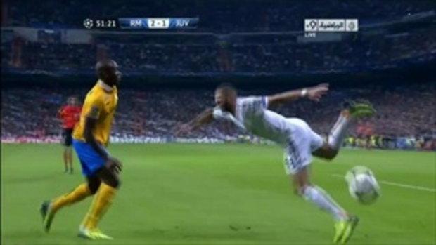 Karim Benzema Amazing Skill Vs Juventus