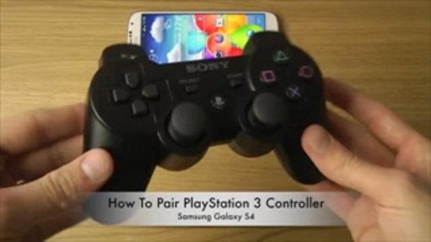 Galaxy S4 สามารถต่อจอยเกมส์เพลย์สเตชั่น ได้ด้วย