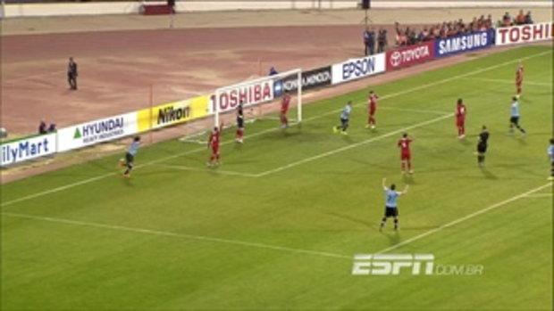 ไฮไลท์ฟุตบอล จอร์แดน 0-5 อุรุกวัย  รอบเพลย์ออฟ ฟุตบอลโลก